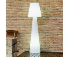 LOLA-Lampe de sol d'extrieur H110cm Blanc New Garden