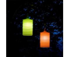 LAMPION-Suspension d'extrieur Silicone H27cm Orange Rotaliana - design par Emmanuel Gallina