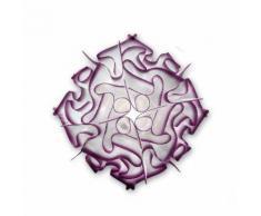VELI-Plafonnier 32cm Violet Slamp - design par Adriano Rachele