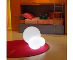 GLOBO IN-Lampe de sol 50cm Blanc Slide