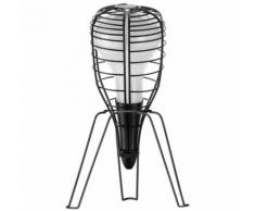 CAGE ROCKET-Lampe Baladeuse support Trpied H33cm Noir Diesel with Foscarini - design par Diesel
