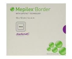 Molnycke Sante Carem Sofetac Mepilex Frontiere Dressing 10x10cm 5 Pieces