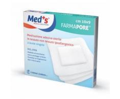 Farmapore pansements adhesifs de Med Dressing 9x600cm sterile 5 Pieces