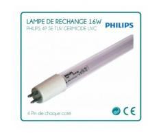 Lampe de rechange 16W Philips pour stérilisateur UV