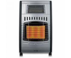 Qlima Poêle à gaz infrarouge gpl 4.2 kW ventilateur chauffage 80 m3 GH1062RF