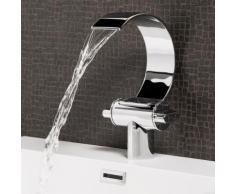 Robinet de Lavabo Oregon Mitigeur Pour Vasque Robinet Mitigeur Design Laque Chrome En Laiton