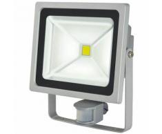 Brennenstuhl Projecteur LED Chip 50W V2 IP44 PIR avec détecteur de mouvements infrarouge 4230lm