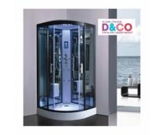 Cabine de douche Hammam 90 x 90 x 215 cm full options