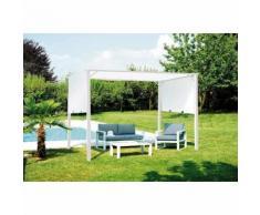 Tente Pergola de Jardin 3,5 x 2,5 mt en fer   Blanc