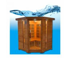 Sauna infrarouge Luxe - France Sauna - 3/4 places