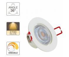 Spot LED intégré - 345 lumens - Intensité variable