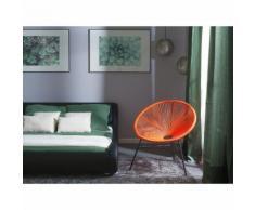 Chaise de jardin orange Acapulco