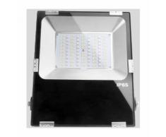 Projecteur LED RGB+CCT 100W radiofréquence RGB + WW-CW   Sans - RGB + CCT