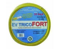 Tuyau arrosage PVC EV Tricofort 5 couches 50m diamètre 15mm