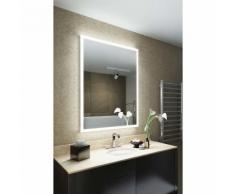 Miroir de Salle de bain Pearl Rasoir, cadre LED avec Anti-buée & Capteur k1418iv