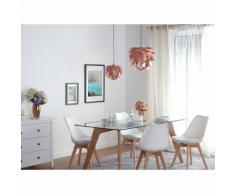Lampe de plafond - suspension - plafonnier - luminaire cuivre - Andelle