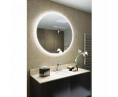 Miroir de Salle de Bain Aureole à Bord Super Fin avec Capteur et Antibuée k517