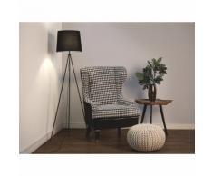 Lampadaire design - luminaire - lampe de salon - noir - Sambra