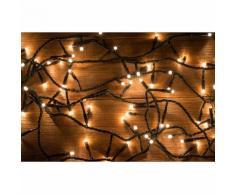 Guirlande LED 31V 15M IP44 300 LED (guirlande seule) - couleur eclairage : Blanc Chaud 2300K - 3500K