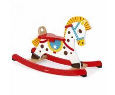 Cheval à bascule punchy bois J05981 multicolore - JANOD