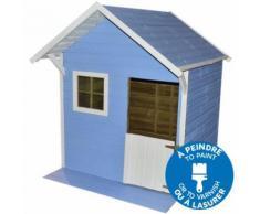 Maisonnette bois avec terrasse JANE