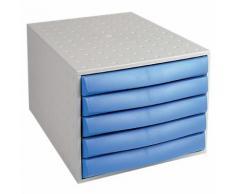 Module de classement Office Depot 222606ND 5 21 8 (H) x 28 4 (l) x 38 7 (P) cm Bleu