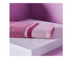 Serviette de toilette texturée couleur BOUGAINVILLIER Monoprix Maison