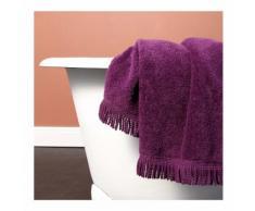 Serviette de toilette, passementerie couleur PENSEE Monoprix Maison
