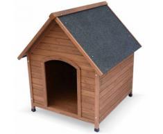 Niche pour chien en bois COCKER XL, cabane pour chien 88 x 82 x 112cm