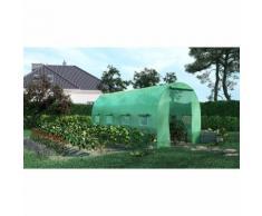 Green Roof - Serre de Jardin Tunnel 9m2 - 4,5x2m