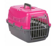 Panier de transport chien et chat Gipsy - 50 x 30 x 17 cm - Fuchsia
