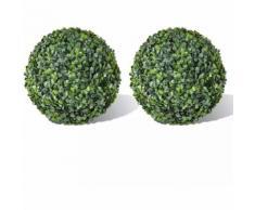 Plante artificielle 2 pcs 35 cm