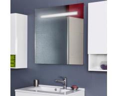 Miroir MIRLUX 80x80 cm - éclairage intégré à LED et interrupteur sensitif