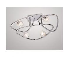 Plafonnier design Lux 4 Lampes