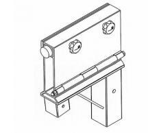 Dispositif de réglage horizontal pour portique en aluminium ,Vetter