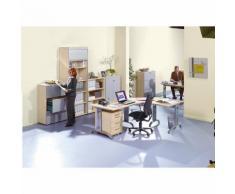 ANNY - Caisson roulant 1 tirette-plumier, 1 tiroir, 1 tiroir pour dossiers suspendus, profondeur 800 mm ,office akktiv