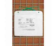 Porte-documents magnétique avec crochet et bande magnétique, pour format A4