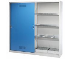 Armoire de sécurité armoire à portes coulissantes XL ,EUROKRAFT