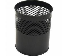 Corbeille à papier ronde capacité 15 l, h x Ø 320 x 260 mm