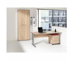 JACK - Bureau complet bureau, caisson roulant, armoire