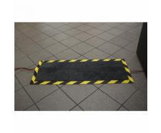 Tapis de protection des câbles L x l x h 1200 x 400 x 4 mm