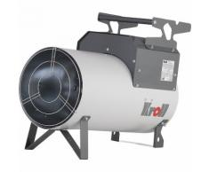 Chauffage au gaz à allumage Piezo débit d'air 1100 m³/h