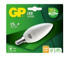 Ampoule GP LED bougie E14 3.5W-25W