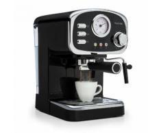 Espressionata Gusto Machine à café expresso 1100W pression 15 bars - noire
