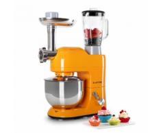 Lucia Orangina Robot de cuisine Pétrin Mixeur Hachoir 1200w 5l