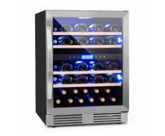 Vinovilla Duo43 Cave à vin 2 zones 129L 43 bouteilles classe B