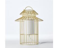 Lampe à poser enfant cage à oiseau Cuicuicui . Gris AM.PM.