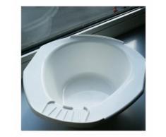 Bidet portable PREMIUM - 12 cm - Blanc