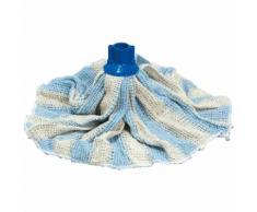 Franges pour laveur espagnol - Avec adaptateur - Serpillère coton
