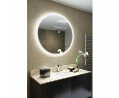 Miroir de Salle de Bain Cirque à Bord Super Fin avec Capteur et Antibuée k516